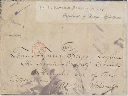 foreign office honolulu front May 1878
