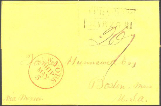 43 - Nov 2 Hunnewell via Mexico - docket