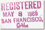 REGISTERED - 9 8May85