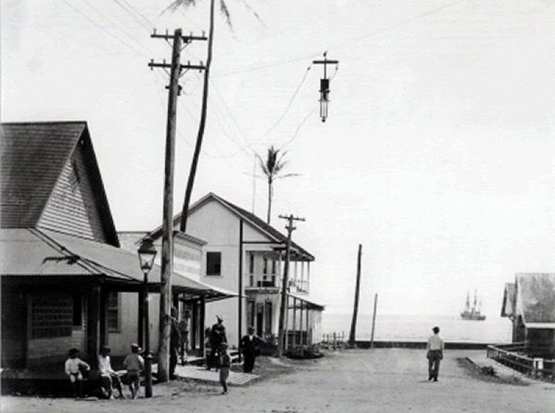 Downtown Hilo 1880 Photograph