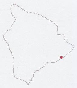 Location of Kaimu
