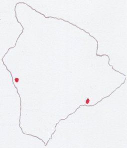 Locations of Keauhou