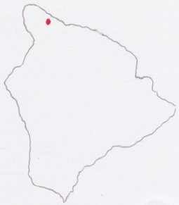 Location of Kohala