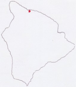 Location of Kukuihaele