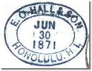 E.O Hall & Sons oval 30Jun71